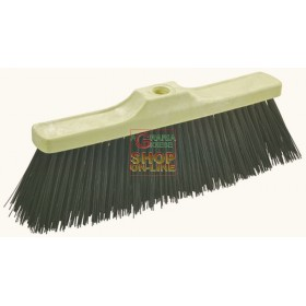 PROFESSIONAL Broom in RIGID REINFORCED PVC CM. 36 WITHOUT HANDLE