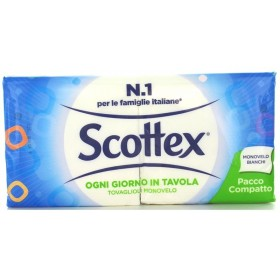 SCOTTEX NAPKINS 33x33 1 SINGLE PILE 150 WHITE PIECES