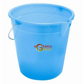 BUCKET WITH BLUE SPOUT LT.17