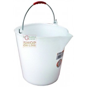 BUCKET WITH WHITE SPOUT LT. 14