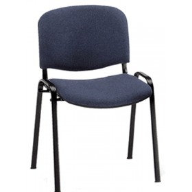 INTERLOCUTOR CHAIR FOR OFFICE IN GRAY FABRIC