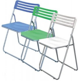 FOLDING CHAIR IN LILAC ABS
