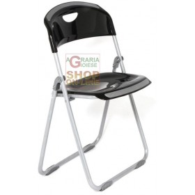 FOLDING CHAIR MOD. BRASIL COLOR BLACK