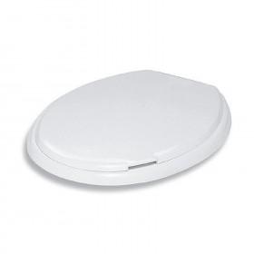 Toilet Seat Gabbiano Model White cm. 47x38x4h.
