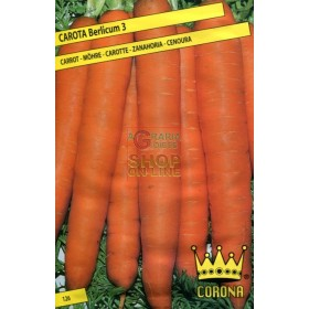 CARROT SEEDS BERLICUM 3