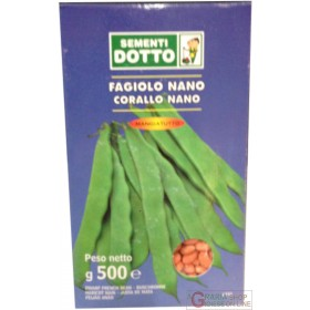 BEAN SEEDS NANO CORALLO MANGIATUTTO GR. 500
