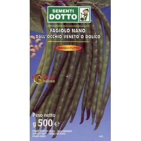 SEMI DI FAGIOLO NANO OCCHIO DOLICO GR. 500