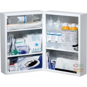 METAL MEDICATION CABINET ANNEX 1 INCREASED DIM 45X32X19 CM