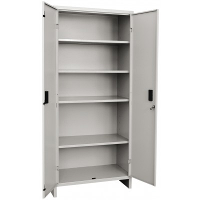 WARDROBE IN PAINTED SHEET WITH 2 DOORS CM. 175x80x40