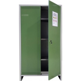 METAL CABINET FOR PHYTO-DRUGS 2 DOORS CM. 100x40x179h