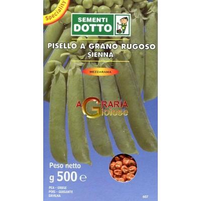 SEMI DI PISELLO MEZZA RAMA SIENNA GR. 500