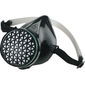 SEMI ANTIGAS MASK RUBBER FACE MASK I WITHOUT CE FILTER