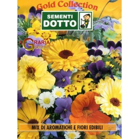 SEEDS MIX OF AROMATIC AND EDIBLE FLOWERS