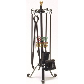 SERIES TOOLS FOR FIREPLACE WROUGHT IRON 649 MEDIUM