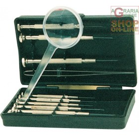 SCREWDRIVER SERIES FOR WATCHES WITH MAGNIFYING LENS