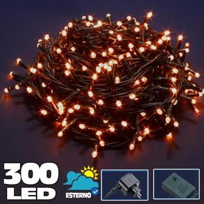 300L WHITE LED LIGHTNING SERIES 8 FUNCTIONS 24V WARM LIGHT