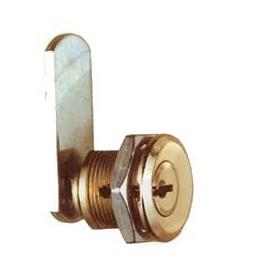 NICKEL FINISH CYLINDER LOCK D. 20 MM. 20