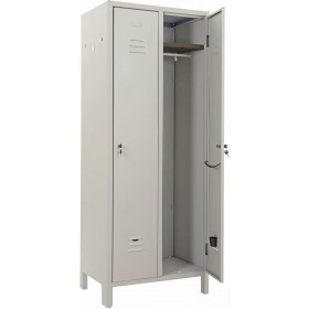 2-SEATER DRESSING CABINET IN KIT WITH LOCK 66x33x180h cm.