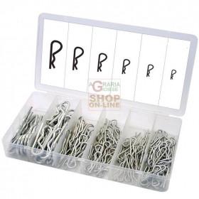 ASSORTMENT SET OF SIMPLE PINS PCS. 550