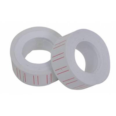 SET OF TWO ROLLS OF LABELS FOR PRICING PRICE LABELING MACHINE