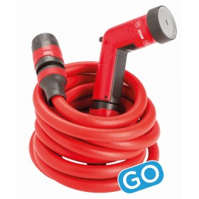 HOSE SET COMPLETE WITH FITTINGS AND LANCE FITT YOYO GO COMPACT AND EXTENDABLE UP TO MT.10