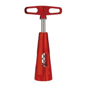 ARTIS SOMMELIER CORKSCREW MODEL SPRIRAL COLOR RED