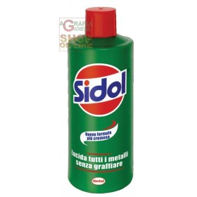 SIDOL POLISHING METALS WITHOUT SCRATCHING ML. 250