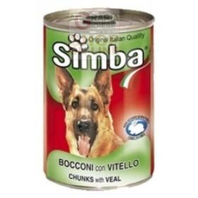 SIMBA BOCCONCINI PER CANI CON VITELLO KG. 1,230