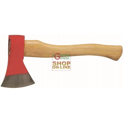 HATCHES STEEL CUT WOOD HANDLE GR. 400