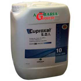 SIPCAM CUPROXAT SDI FUNGICIDE ALLOWED IN ORGANIC AGRICULTURE Tribasic copper sulphate LT. 10