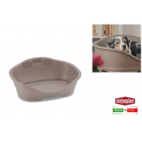 SLEEPER 3 BED FOR SMALL AND MEDIUM DOGS AND CATS TAUPE SIZE cm.