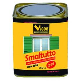 SMALTO ANTIRUGGINE SMALTUTTO GEL 3009 ROSSO AMARANTO ML. 750