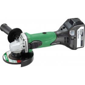 ANGLE GRINDER HITACHI G18DSL 18V 5Ah WITH 2 LI-ION LITHIUM
