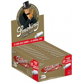 Smoking Gold King Size Papers Long Box 50 packets