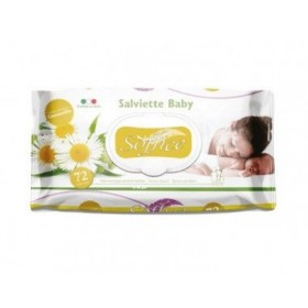 Soft soaked wipes baby chamomile pcs. 72