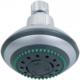ABS SHOWER HEAD WITH FIVE JETS S128CP REF. 11850