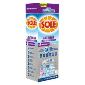 SOLE CARE EXPRESS WASHING MACHINE 8 ACTIONS LIQUID 250 ML