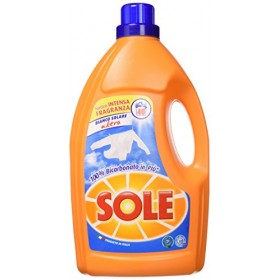 SOLE ULTRA SOLAR WHITE LIQUID WASHING MACHINE WITH BICARBONATE