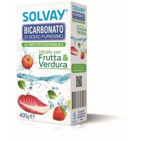 SOLVAY BICARBONATO MICROGRANULI FRUTTA & VERDURA gr. 400