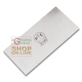 SCRAPER SPATULA ART. 616 IN POLISHED TEMPERED STEEL MM. 120X60