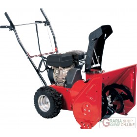DOUBLE STAGE SNOW SWEEP NGP SNOWY 65 HP. 6,5 CUTTER CM. 65 SNOW