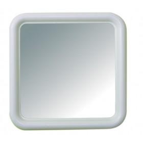 MIRROR ART. 328 MOD. SILVIA WHITE CM. 50x50
