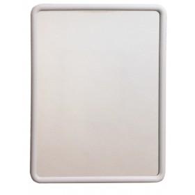 RECTANGULAR WHITE MIRROR CM.55X70H ART.522