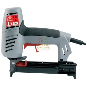 ELECTRIC STAPLER MOD. LKT 120 RO-MA PINS AND NAILS