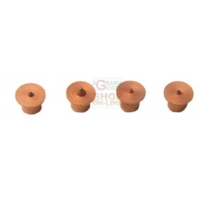 CENTER PINS FOR WOOD PLUGS ART.670.00 PCS. 4 MM. 6
