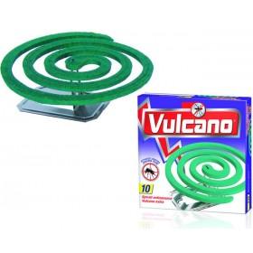 ANTI-MOSQUITO SPIRALS VULCANO EXTRA GREEN CLASSIC 10 SPIRALS