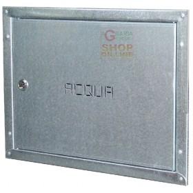 DOOR IN ANTI-CUT GALVANIZED SHEET FOR WATER METER CM. 40X30