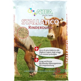 STALLATIC BOVINE AND HUMIFIED EQUINE MANURE PELLET ALTEA