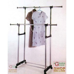 AMERICA DOUBLE STANDER CM.90 / 135X173 CLOTHES HOLDER
