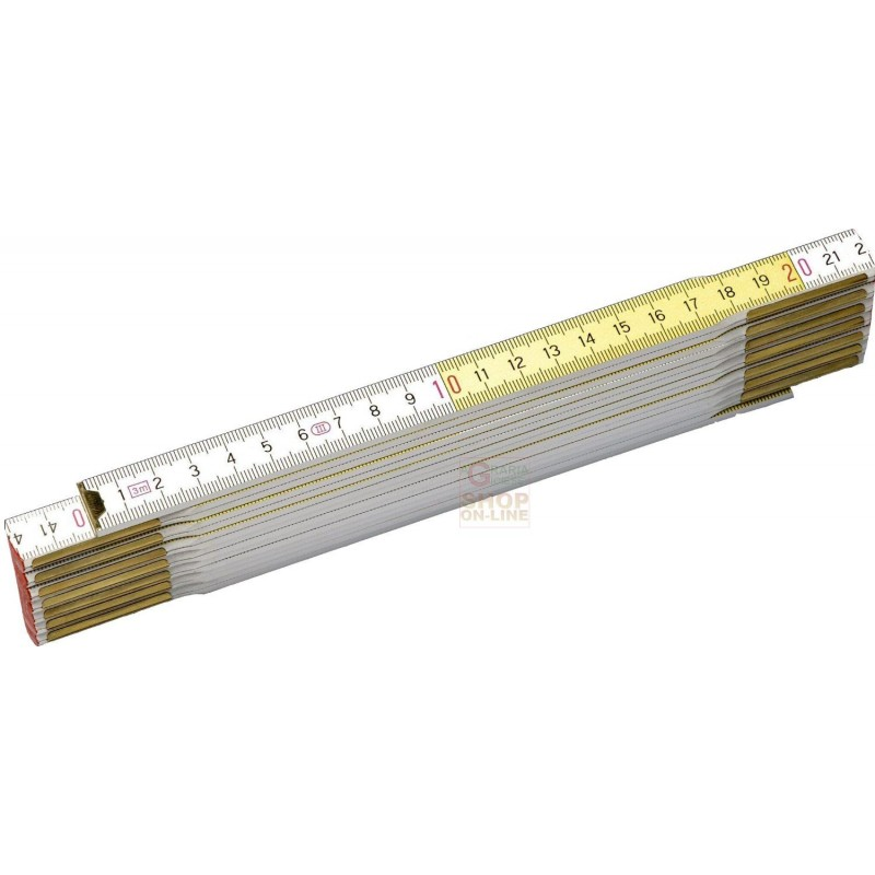 Stanley doppio metro bianco giallo spessore mm 3 - Piastrelle spessore 3 mm ...